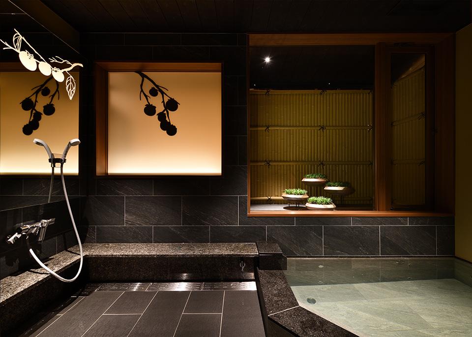 貸切風呂 山景 SANKEIのパース画像