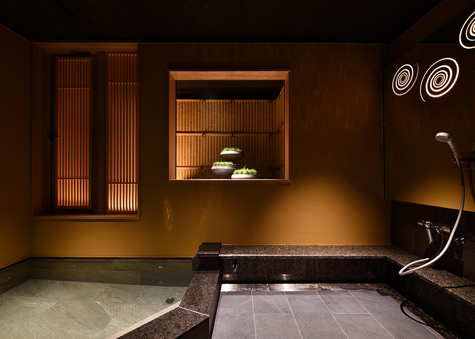 貸切風呂 海 KAIのパース画像